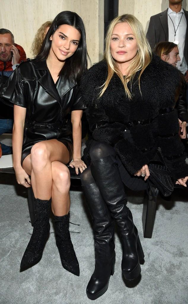 Kendall Jenner, Kate Moss, New York Fashion Week