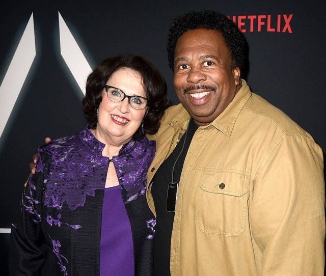 Phyllis Smith Leslie David Baker Netflixrsquos Premiere For The Oa