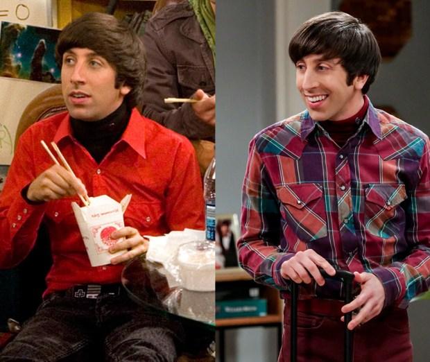 Simon Helberg, The Big Bang Theory, Then and Now
