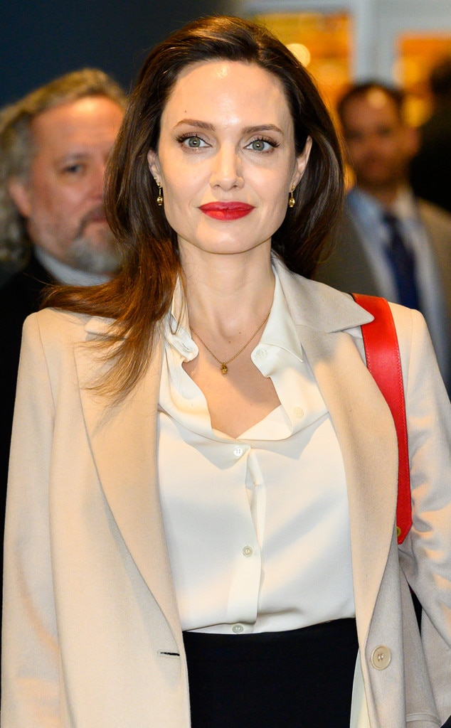 Angelina Jolie Has A New Job Contributing Editor For Time