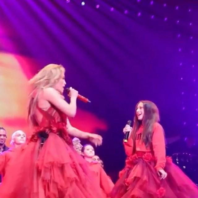 Jennifer Lopez, Emme, Daughter, Concert