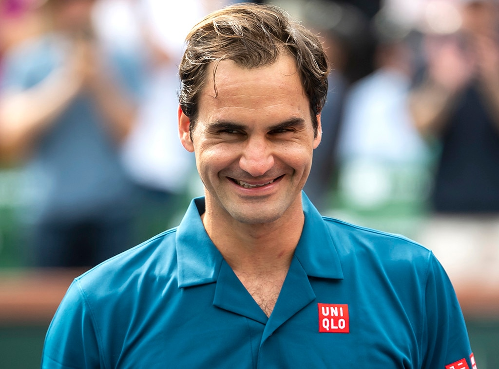 Roger Federer Admits He Used To Mix Up His Twins E News