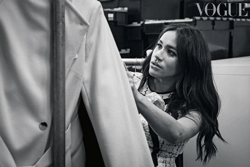 Meghan Markle, Kensington Palace, for British Vogue