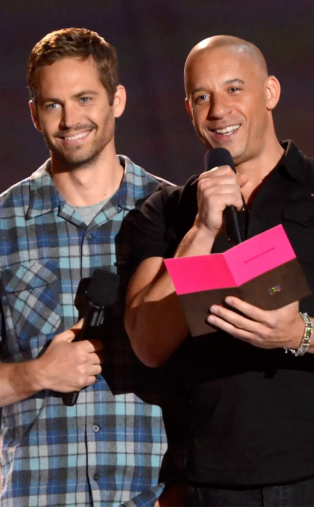 Paul Walker, Vin Diesel, 2013 MTV Movie Awards