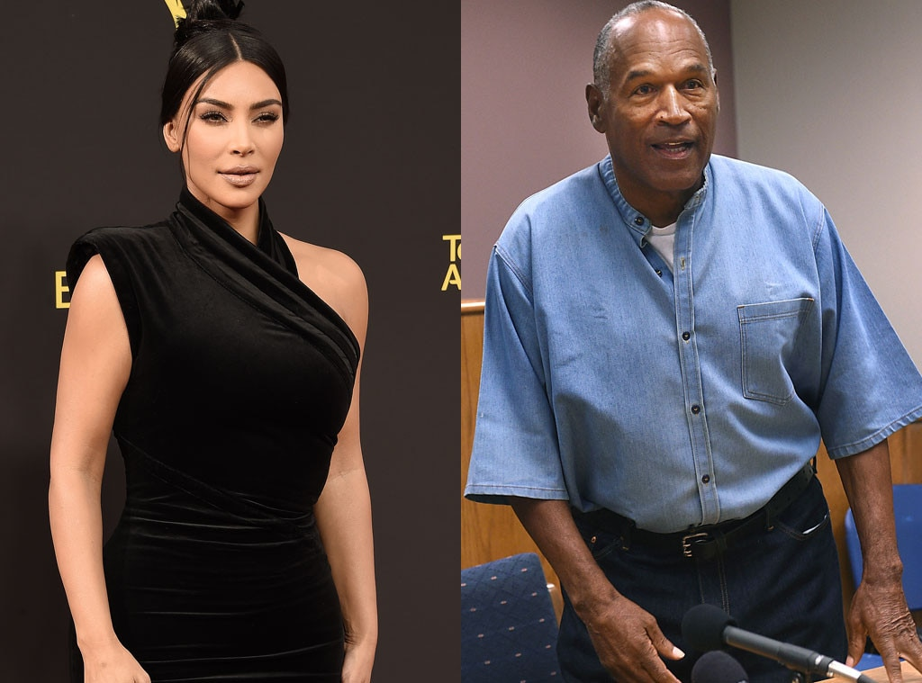 Kim Kardashian West, O.J. Simpson