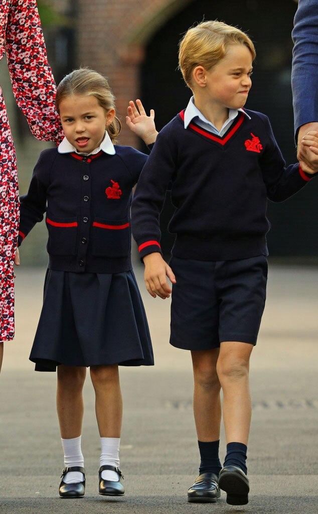 Princess Charlotte, Prince George, School