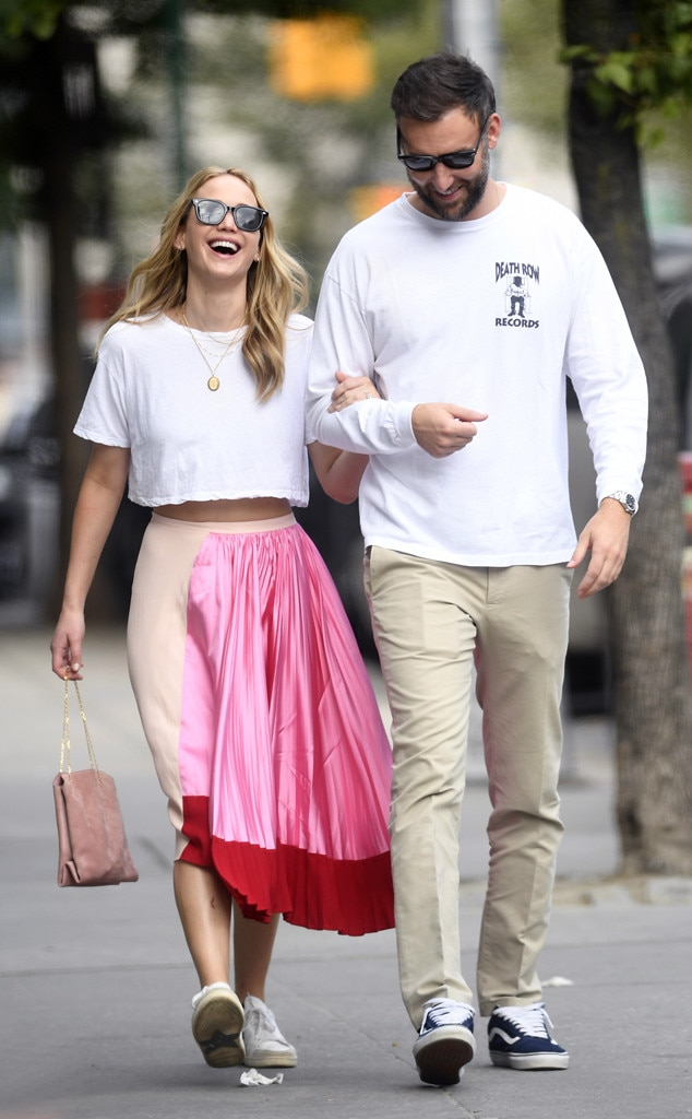 Jennifer Lawrence And Cooke Maroney Spark Marriage Rumors