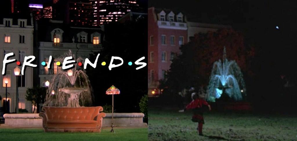 Hocus Pocus, Friends, Fountain
