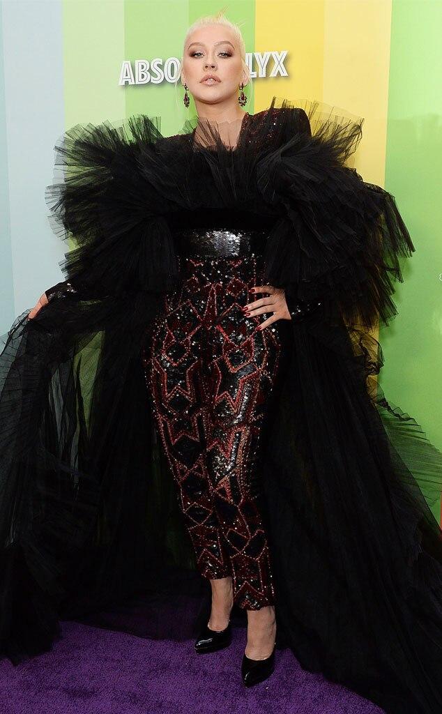 Christina Aguilera, 2019 amfAR Gala, Arrivi