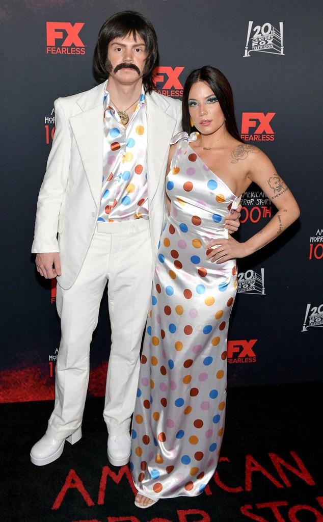 Evan Peters, Halsey, American Horror Story 100th Episode Celebration