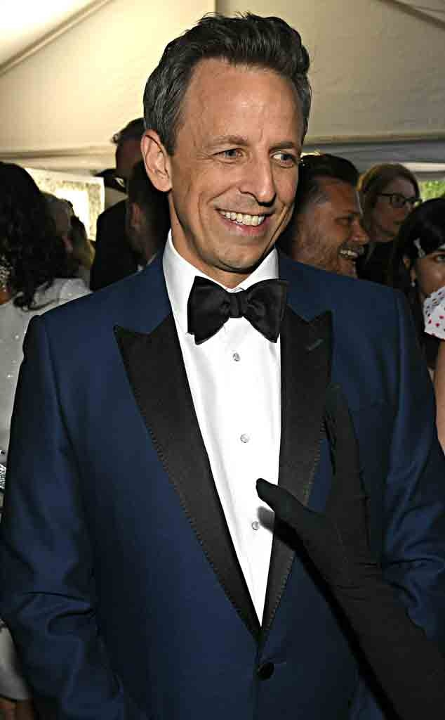 Seth Meyers, 2020 Critics Choice Awards, After Party
