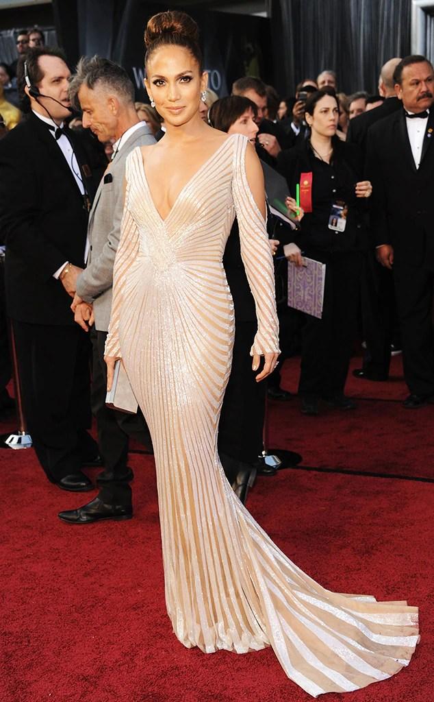 Best looks - Jennifer Lopez, Oscar 2012