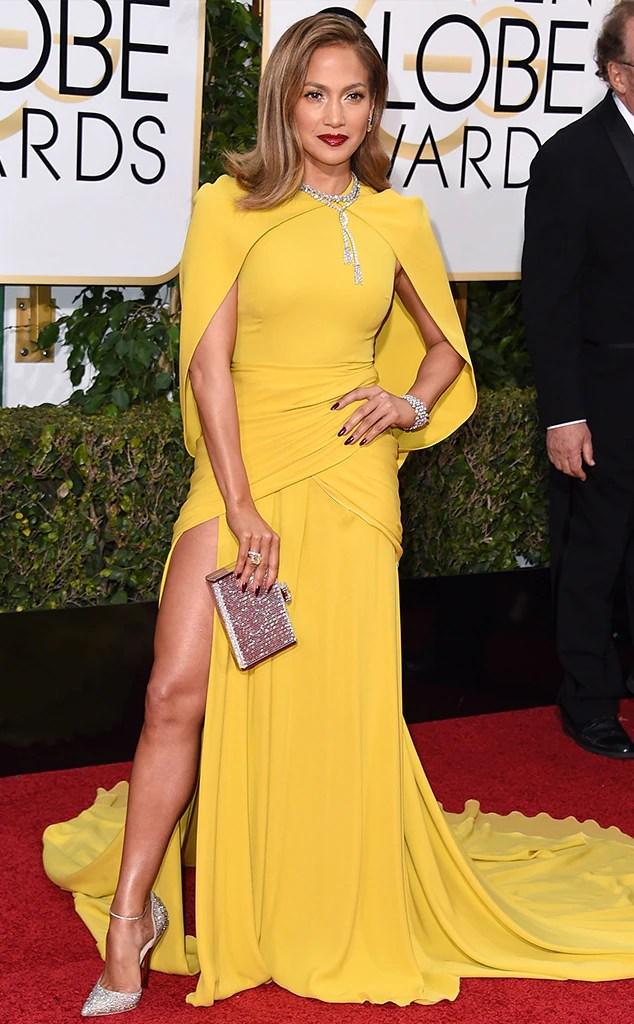 Best looks - Jennifer Lopez, Golden Globes 2016