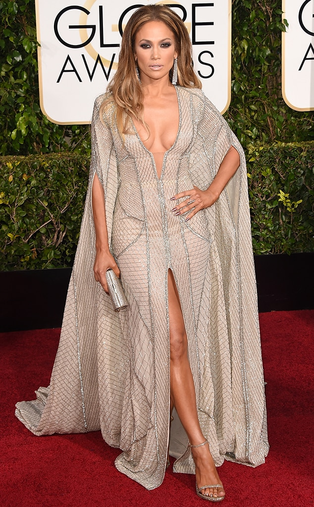 Best looks - Jennifer Lopez, Golden Globes 2015