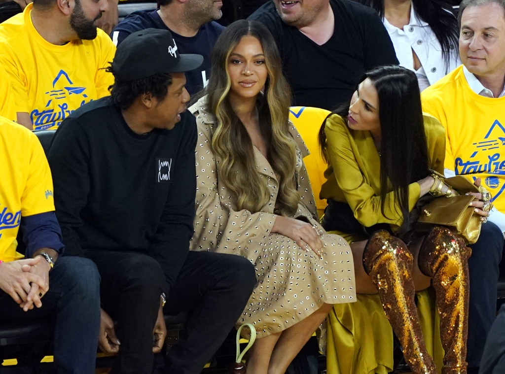 Jay-Z, Beyonce, 2019 NBA Finals