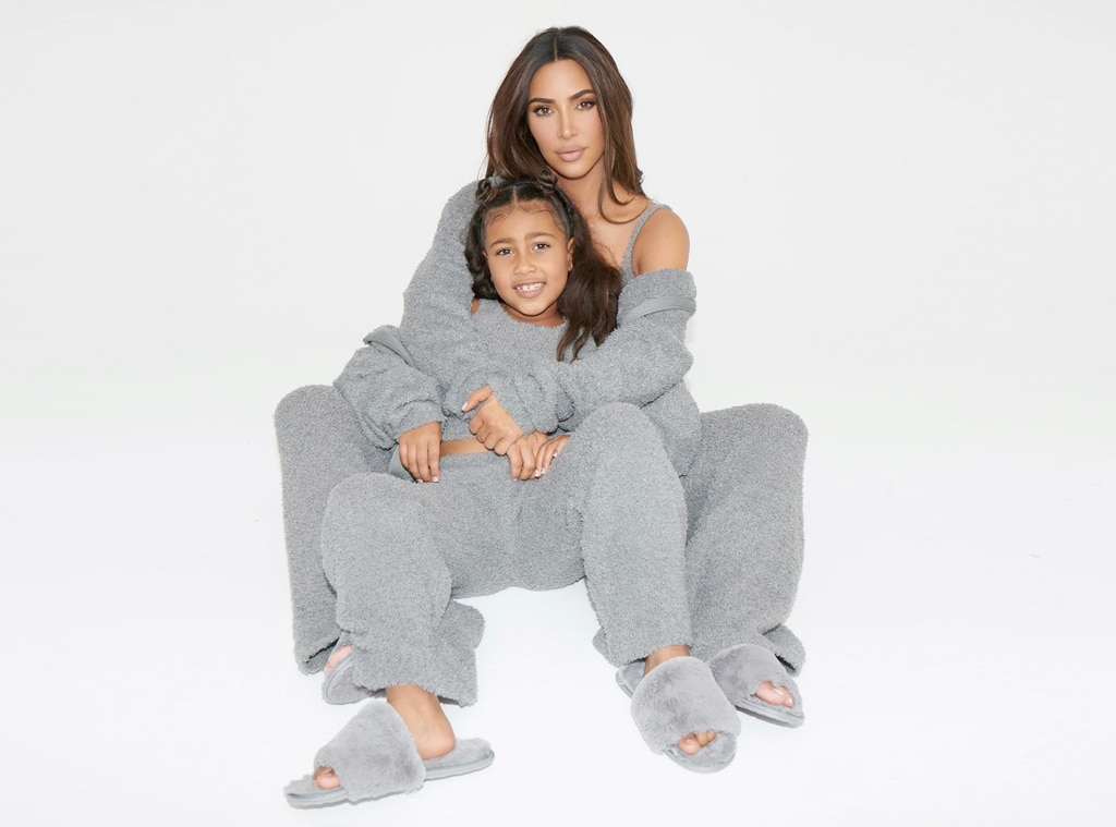 E-Comm: Skims Cozy Collection For Women and Kids, Kim Kardashian, North West