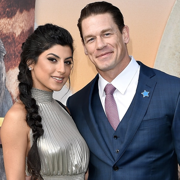 John Cena Marries Girlfriend Shay Shariatzadeh In Secret Ceremony E Online Amit B Choudhury
