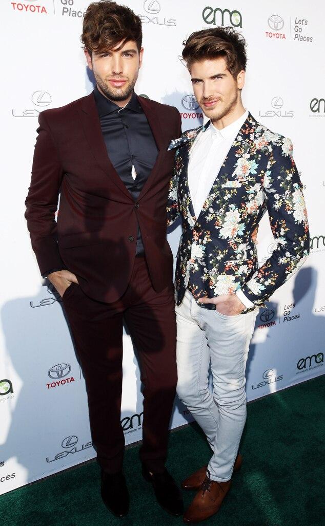 Joey Graceffa and Daniel Preda