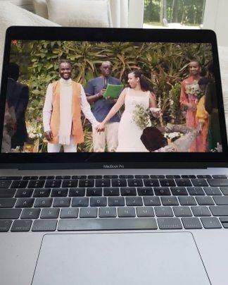 Lupita Nyong'o Says 'Thank God for Technology' as She Watches Her Brother's Wedding on Laptop Amid Coronavirus Pandemic