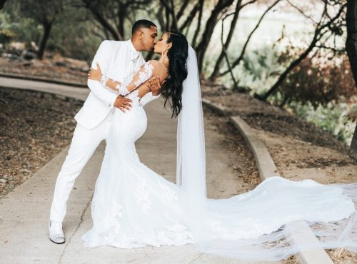 Sister, Sister Star Marques Houston Marries Miya Dickey - E! Online