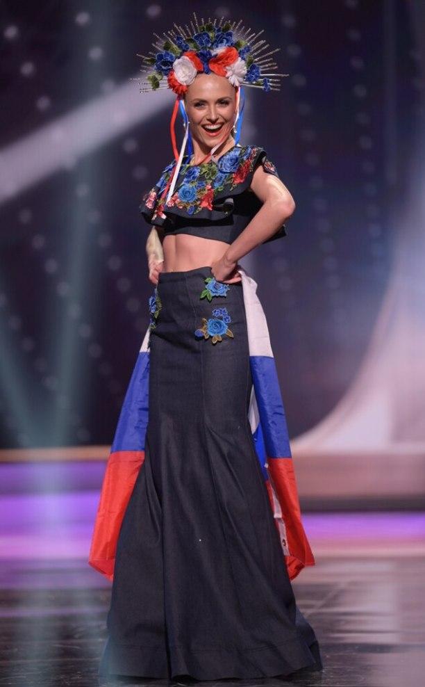 Miss Universe 2021, Miss Slovak Republic, Costumes, Widget