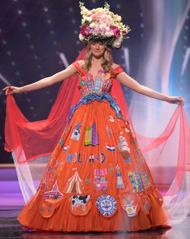 Miss Universe 2021, Miss Netherlands, Costumes, Widget