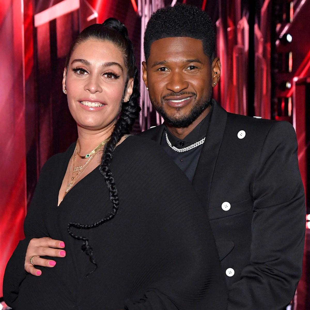 Usher Welcomes Second Child With Girlfriend Jenn Goicoechea