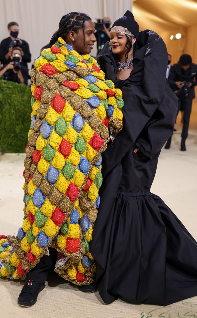 Photos from Every Photo From Rihanna & A$AP Rocky's Cozy Date Night at 2021 Met Gala - E! Online