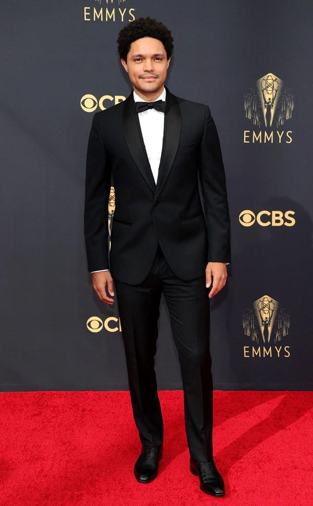 Trevor Noah, 2021 Emmys, Emmy Awards, Red Carpet Fashions, Arrivals