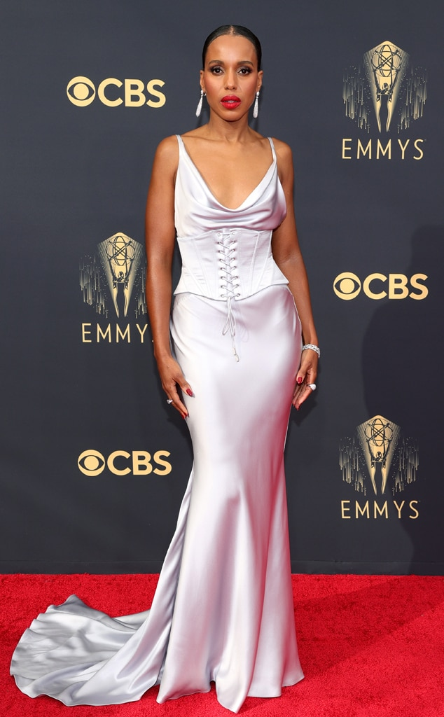 Kerry Washington, 2021 Emmys, Emmy Awards, Red Carpet Fashions, Arrivals