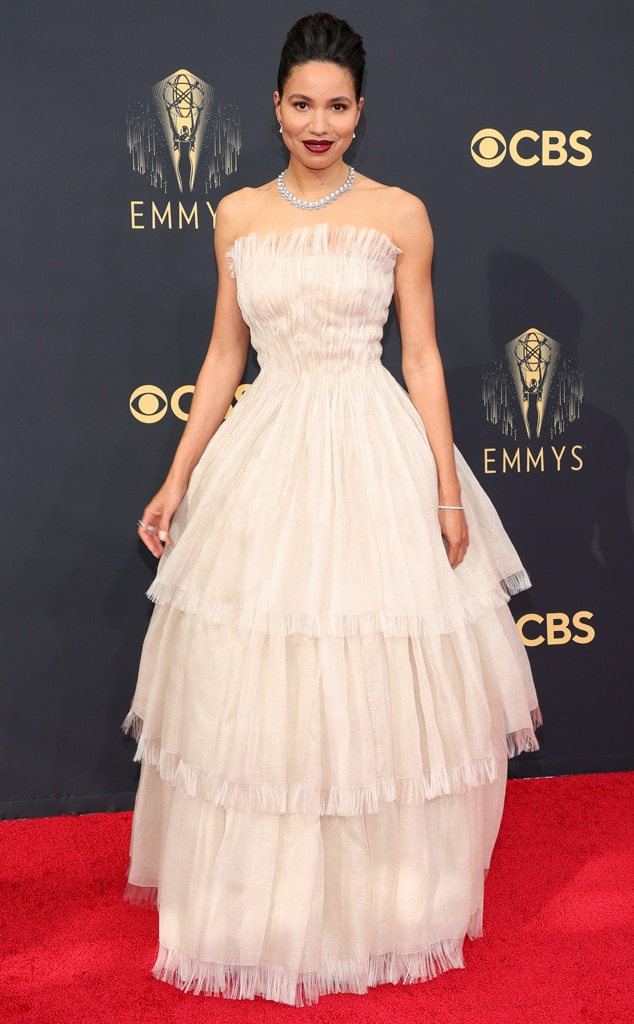 Jurnee Smollett, 2021 Emmys, Emmy Awards, Red Carpet Fashions, Arrivals