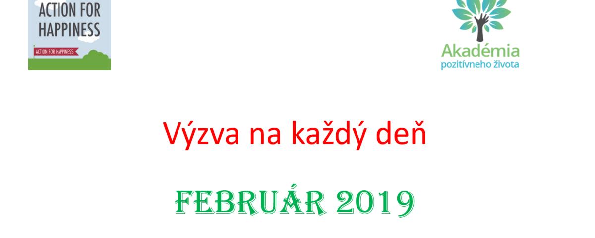 Výzva na deň Február - akomyslietpozitivne.sk