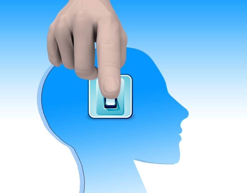 vedomá práca na sebe - ako myslieť pozitívne