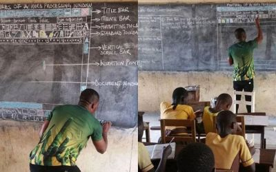 Ghana School Receives Support for their ICT Curriculum