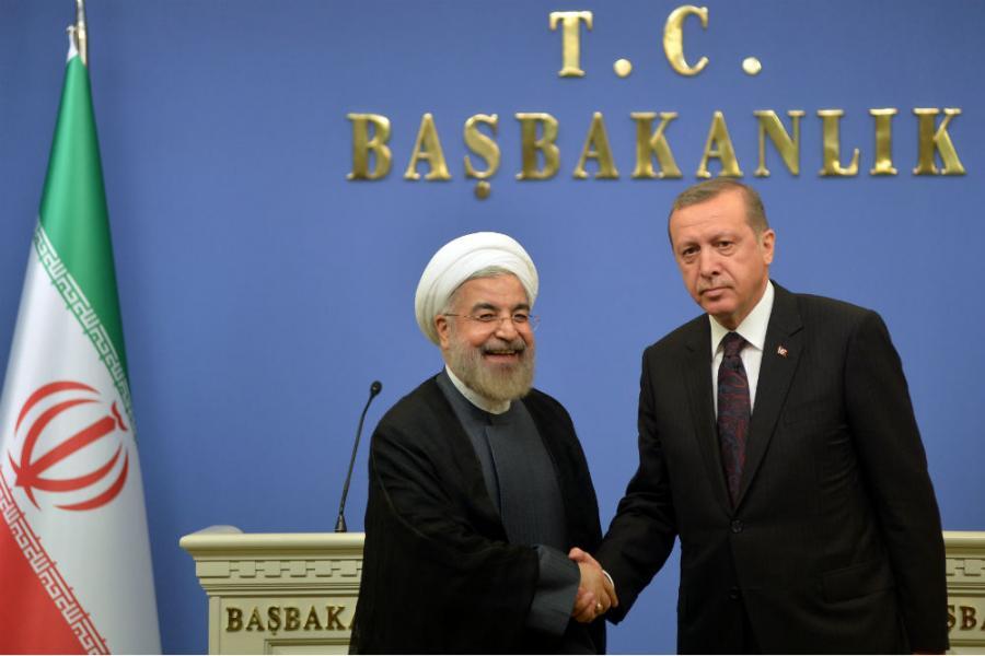 Rouhani (lijevo) je objasnio iranske ciljeve i ključna područja u kojima Iran može sarađivati sa SAD-om i Zapadom [EPA]