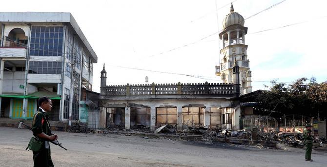 Sukob između Rohinja i budista u Rakhineu datira iz 17. stoljeća [Getty Images]