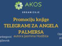 """Sarajevska promocija knjige priča iz ratnog djetinjstva """"Telegrami za Angela Palmerasa"""""""