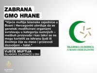 Vijeće muftija zabranilo upotrebu GMO proizvoda
