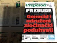 Novi broj Preporoda: Presude, genocid i udruženi zločinački poduhvati