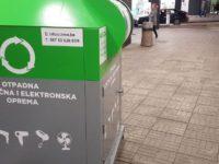 Proizvedeni u Tešnju: Postavljeni prvi kontejneri za e-otpad u Sarajevu