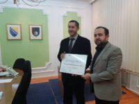 Predsjednik AKOS-a posjetio ministra finansija Kantona Sarajevo