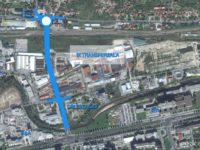 IX transverzala: Pripreme za gradnju nadvožnjaka preko željezničke pruge