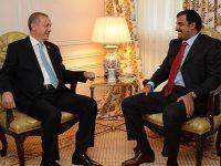 Sastanak Erdogana i katarskog emira Al Thanija u Ankari