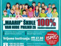 Maarif – 100% podrška obrazovanju…