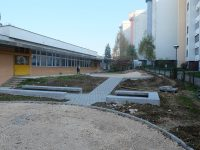 """Novo igralište u dvorištu vrtića """"Dječiji grad"""" na Mojmilu"""