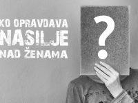 Panel-diskusija: Ko opravdava nasilje nad ženama, vjera ili vjernici?