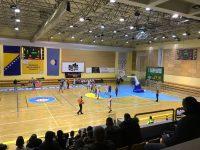 "Dan košarke – odigrane prve utakmice u renoviranoj dvorani ""Ramiz Salčin"""