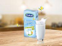 Novo u ponudi Lactalisa BH: bezlaktozno mlijeko Dukat lagano jutro