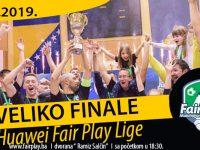 U nedjelju veliko finale sedme sezone Huawei Fair play lige