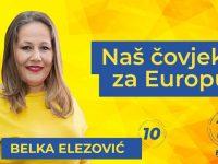 Izbori u EU: Bošnjaci u Hrvatskoj se ujedinili u podršci Belki Elezović